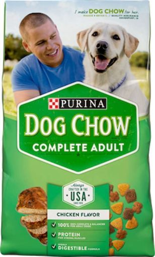 Picture of Purina Dog Chow Complete & Balanced Total Care Nutrition Dog Food (20 lbs)