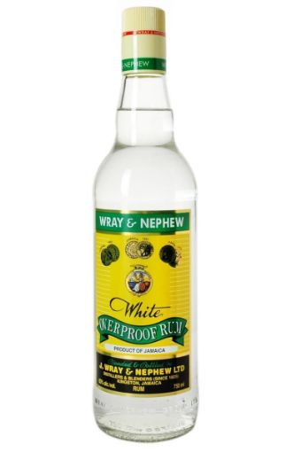 Picture of J. Wray & Nephew White Overproof Rum (750 ml)