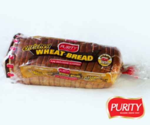 Picture of Purity Whole Wheat Enriched Sliced Bread (780g)