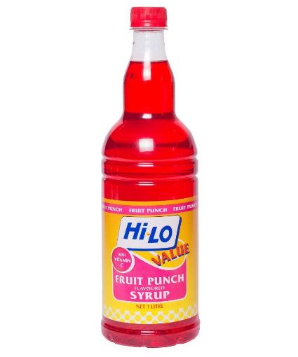 Picture of Hi-Lo Flavoured Fruit Punch Syrup (1L)