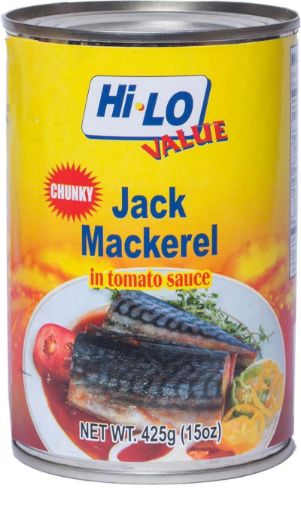 Picture of Hi-Lo Jack Mackerel in Tomato Sauce (Chunky - 425g)