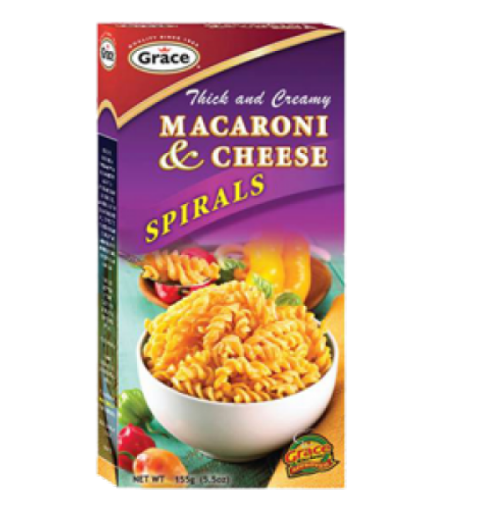Picture of Grace Thick & Creamy Macaroni Cheese Spirals (130g)