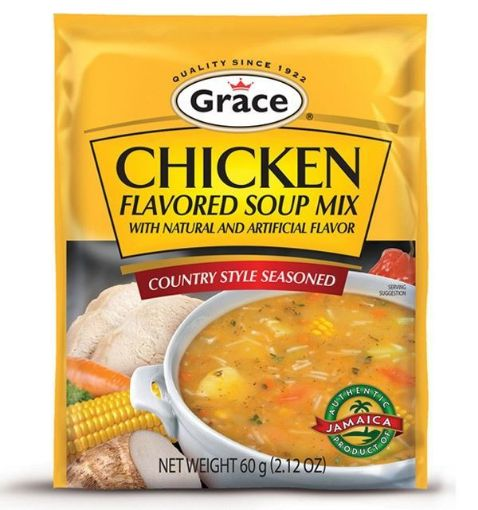 Picture of Grace Chicken Flavoured Soup Mix (60g)