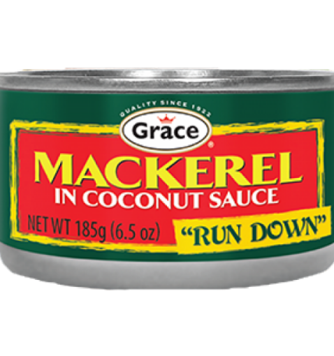 Picture of Grace Mackerel in Coconut Run Down Sauce (185g)
