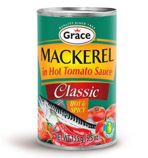 Picture of Grace Mackerel in Hot & Spicy Tomato Sauce (155g)