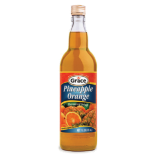 Picture of Grace Pineapple Orange Syrup (12 fl oz)