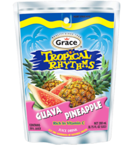 Picture of Grace Tropical Rhythms Guava Pineapple Pouch (209 ml)