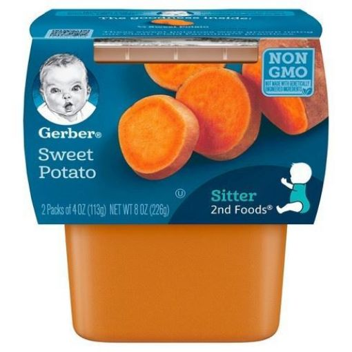 Picture of Gerber 2nd Foods Sweet Potato (2 packs - 4 oz)