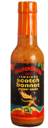 Picture of Walkerswood  Jamaican Scotch Bonnet Pepper Sauce (280g)