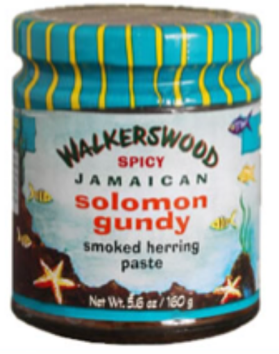 Picture of Walkerswood Condiments - Spicy Solomin Gundy (5.6oz/160g)