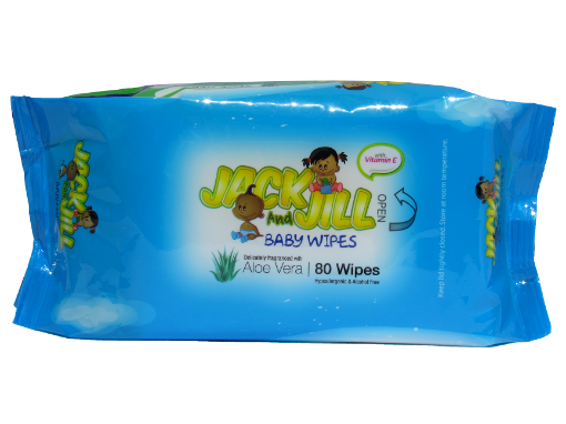Picture of Lasco Jack & Jill Baby Wipes (80)