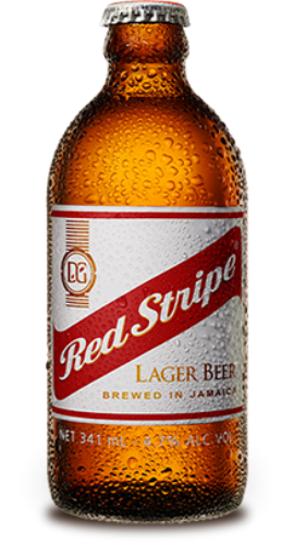 Picture of Red Stripe Beer (Bottle - 341mL)