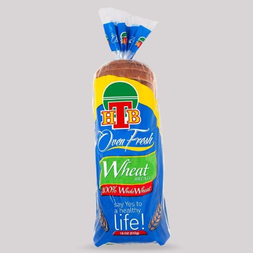 Picture of HTB Oven Fresh Sliced Bread (Wheat - 510g)