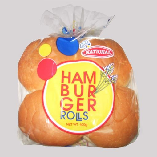 Picture of National Hamburger Rolls (400g)