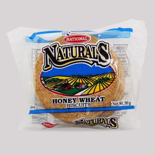 Picture of National Naturals Honey Wheat Biscuits (50g)