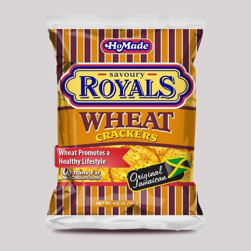 Picture of HoMade Royals Crackers (Wheat 114g/4.4oz)