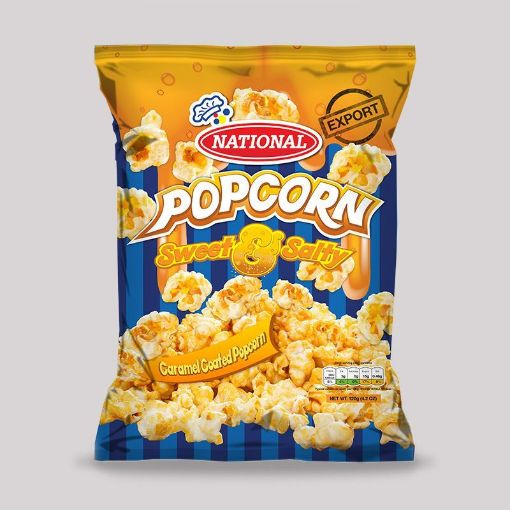 Picture of National Popcorn (Sweet & Salty - 120g)