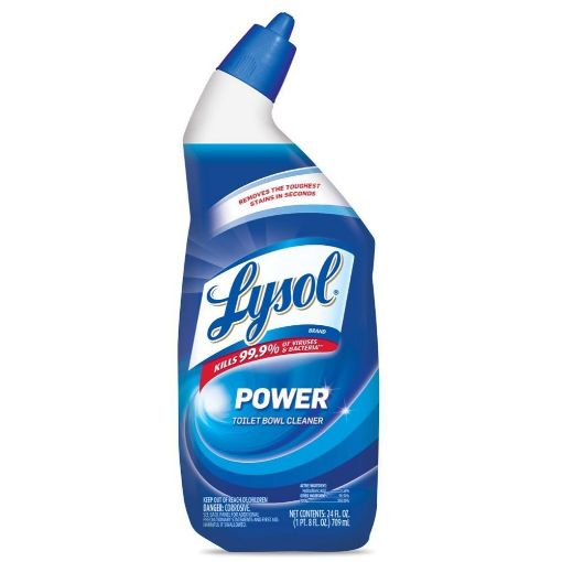 Picture of Lysol Toilet Bowl Power Cleaner (24 fl oz/709 ml)