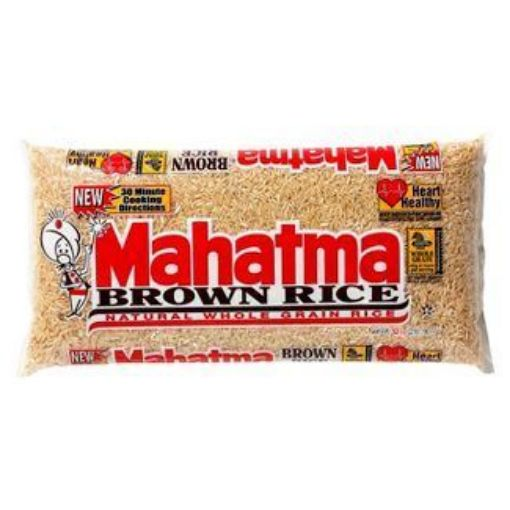 Picture of Mahatma® Brown Rice - Natural Whole Grain Rice (3lbs/1.36kg)