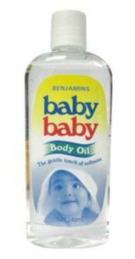 Picture of Benjamins Baby Baby Body Oil (220ml)
