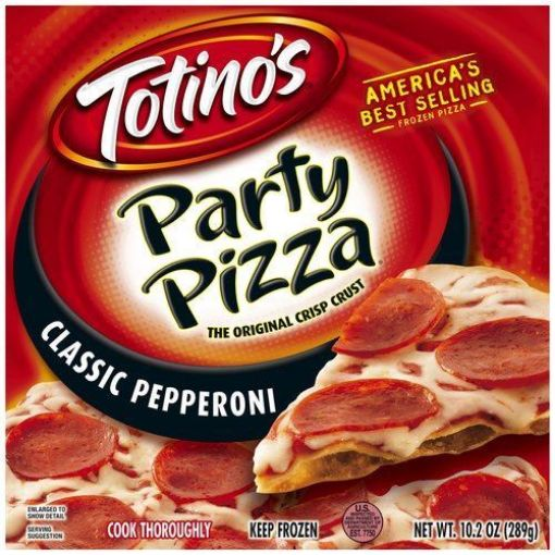 Picture of Totino's Party Classic Pepperoni Pizza (12.2 oz/289g)