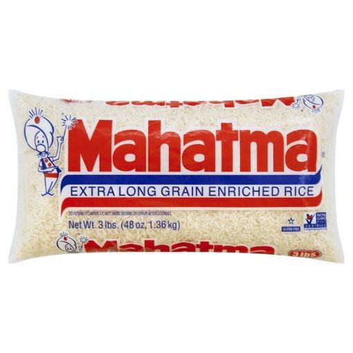 Picture of Mahatma Extra Long Enriched Rice (3 lbs)