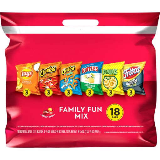 Picture of Frito Lay Snack 18pk (55g each)