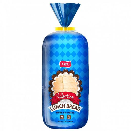 Picture of Purity Valentine Lunch Bread 453.6g