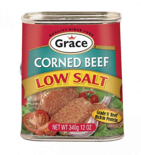 Picture of Grace Corned Beef Low Fat - 340g/12oz