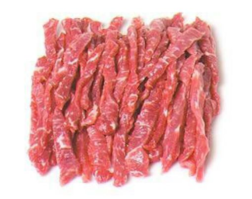 Picture of Beef Pepper Steak Strips Large -500g/1.10lbs (Estimated)