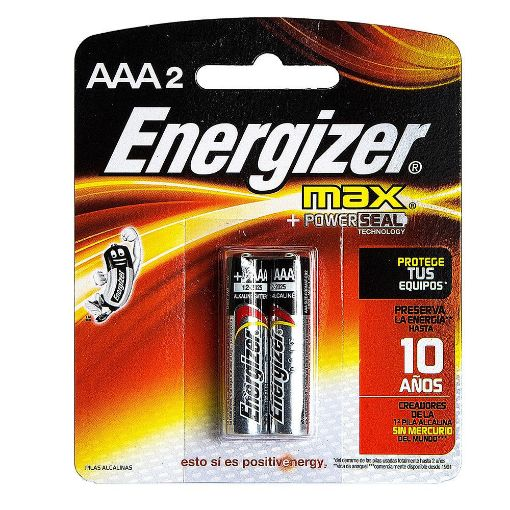Picture of Energizer Max AAA Batteries (Pack of 2)