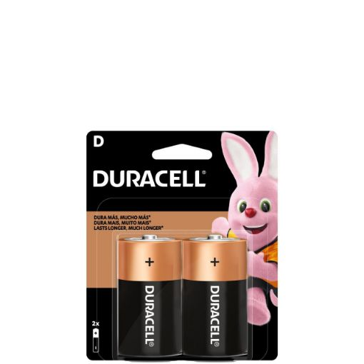 Picture of Duracell D Batteries (Pack of 2)