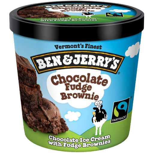 Picture of Ben & Jerry's Chocolate Fudge Brownie 473ml