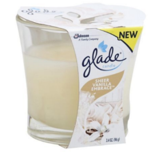 Picture of Glade Candle Vanilla Embrace (3.4 oz/96.38 g)