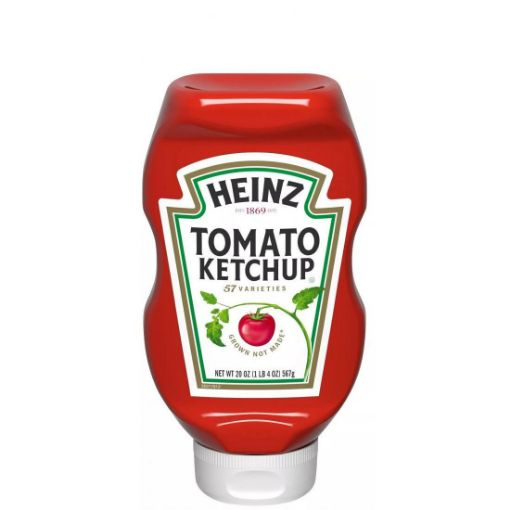 Picture of Heinz Tomato Ketchup (567g/20 oz)