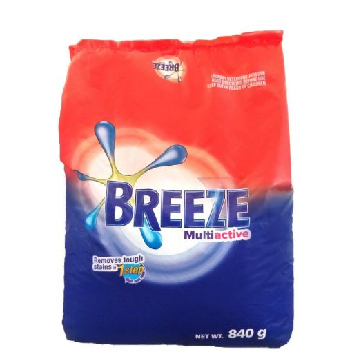 Picture of Breeze Laundry Detergent Multiactive 840g
