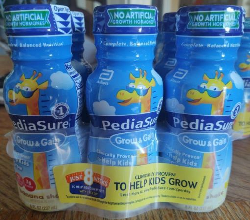 Picture of PediaSure Grow & Gain Shake Banana (6pack - each count of 8 fl oz/237mL)