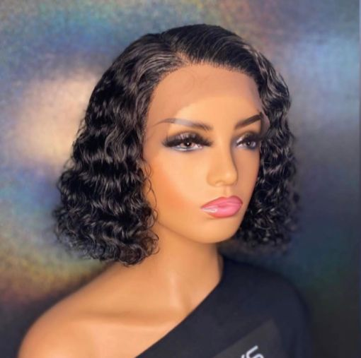 Picture of Curly Frontal Wig (8 inch)