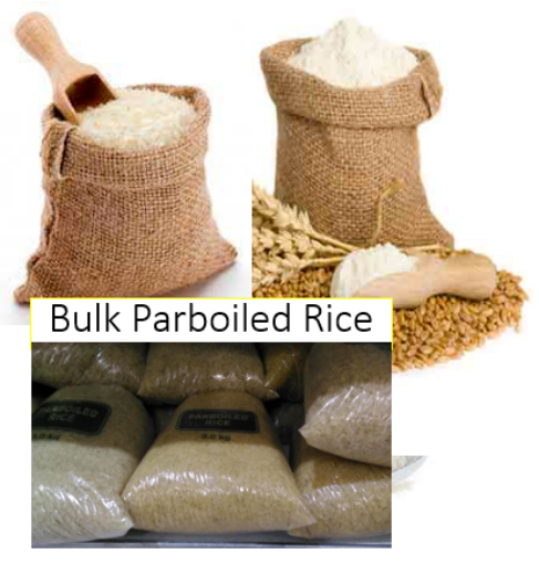 Picture of Bulk Counter Parboiled Rice per 1kg (pre packaged bags)
