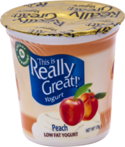 Picture of This is Really Great Yogurt Peach (170 g/5.99 oz)
