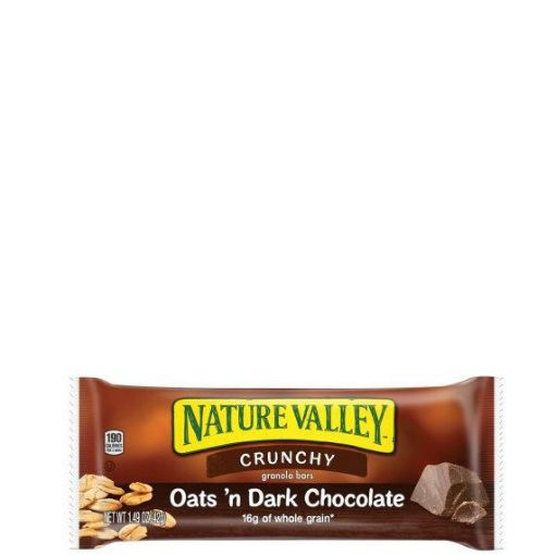 Picture of Nature Valley Granola Bars Crunchy Oats n Dark Chocolate (42g /2 bars)