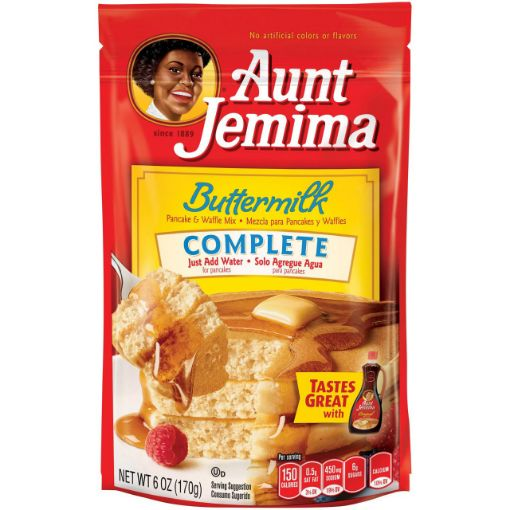 Picture of Aunt Jemima Buttermilk Complete Pancake Waffle Mix (6 oz/170 g)