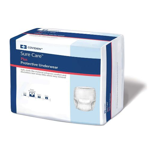 Pack of 18 Sure Care Diapers ( Size- Medium)