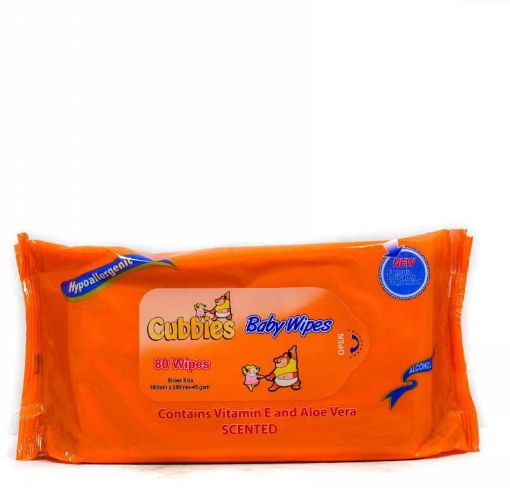 Cubbies 30 Pack Baby Wipes